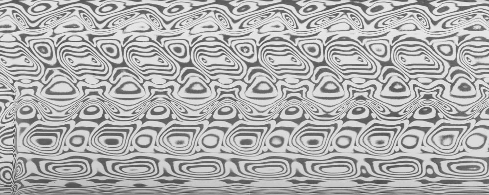 .100″ x 1″  Ægir™ Damasteel