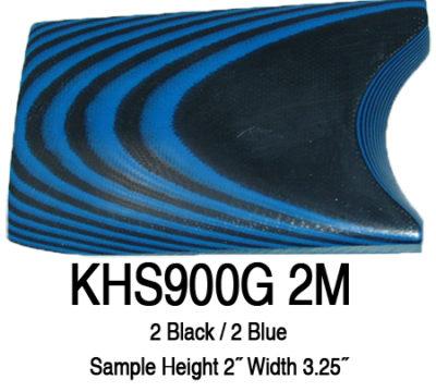 12″ x 12″ x 3/8″ Black/Blue UltreX™ G10 Sheet