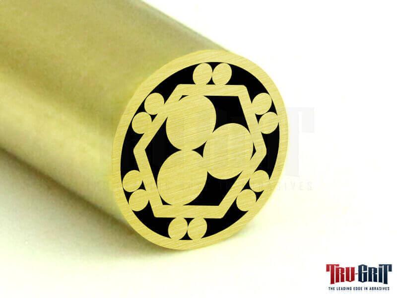 1/4 Mosaic Pin Brass/Brass # 14B01