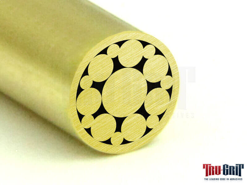 1/4 Mosaic Pin Brass/Brass # 14B05