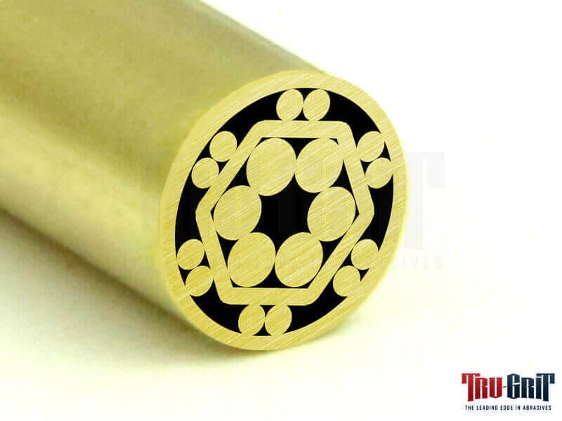 1/4 Mosaic Pin Brass/Brass # 14B09