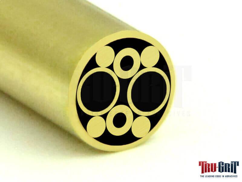 1/4 Mosaic Pin Brass/Brass # B24