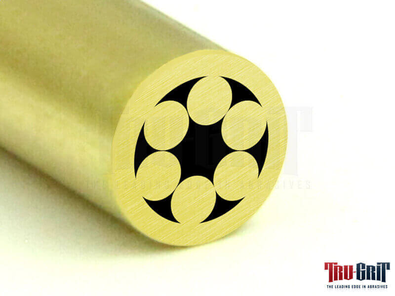 1/8 Mosaic Pin Brass/Brass # 18B01