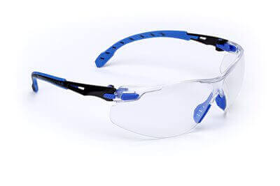 3M™ Solus(TM) 1000-Series Black/Blue, Clear Scotchgard Anti-fog lens
