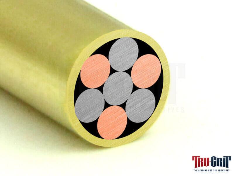 7/32 Mosaic Pin Brass/Brass # 732B01