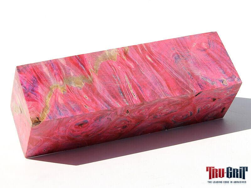 Dyed Buckeye Block