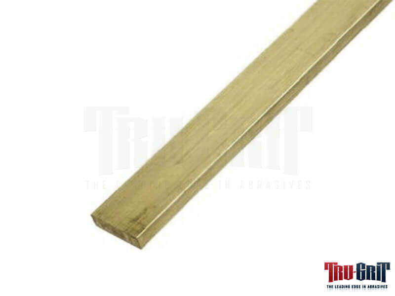 "3/16"" x  1-1/2"" x 12"" Brass Flat Bar"