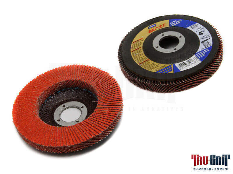 4-1/2 x 5/8-11 60 Grit R980 Blaze Ceramic Flap Disc