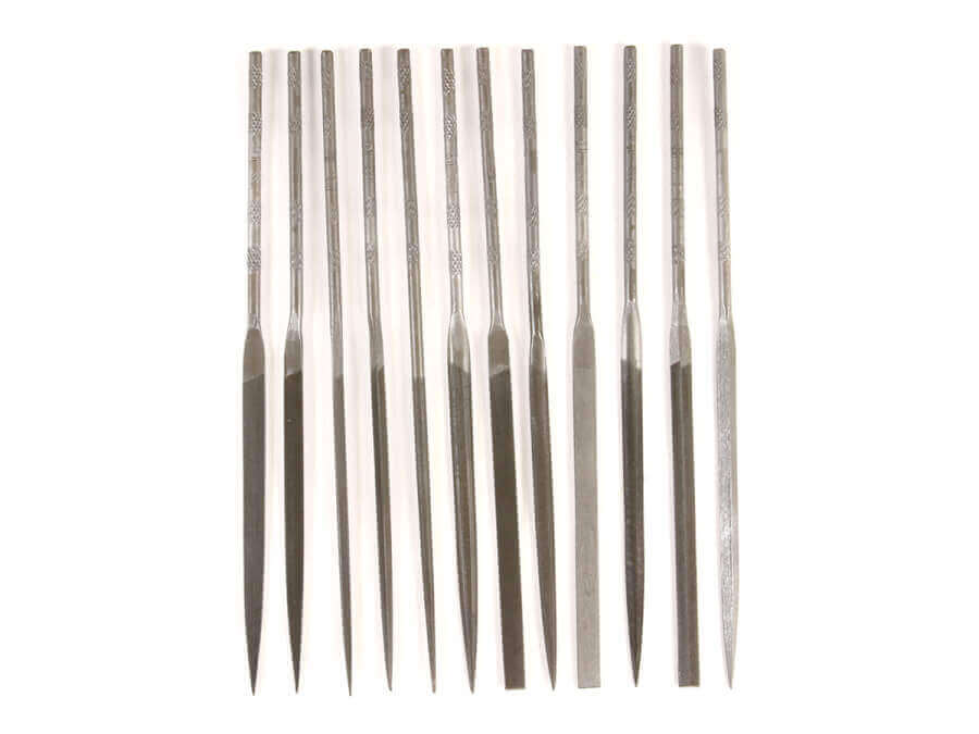 12 Piece Swiss Pattern Needle File Set 5-1/2""