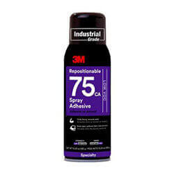 3M Repositionable 75 Spray Adhesive Low VOC 10.25 oz