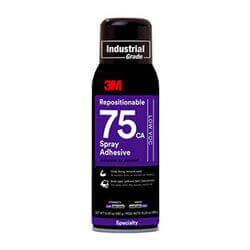 3M Repositionable 75 Spray Adhesive Low VOC 10.25 oz
