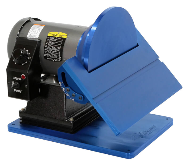 "1.5HP 110V 0-2500 RPM 12"" Reversible Disc Grinder"