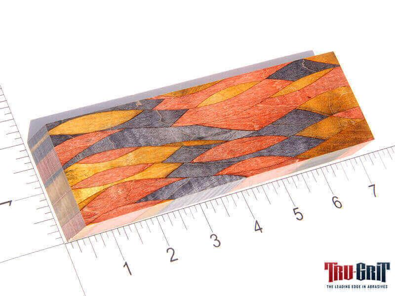 Mosaic Maple Burl Block