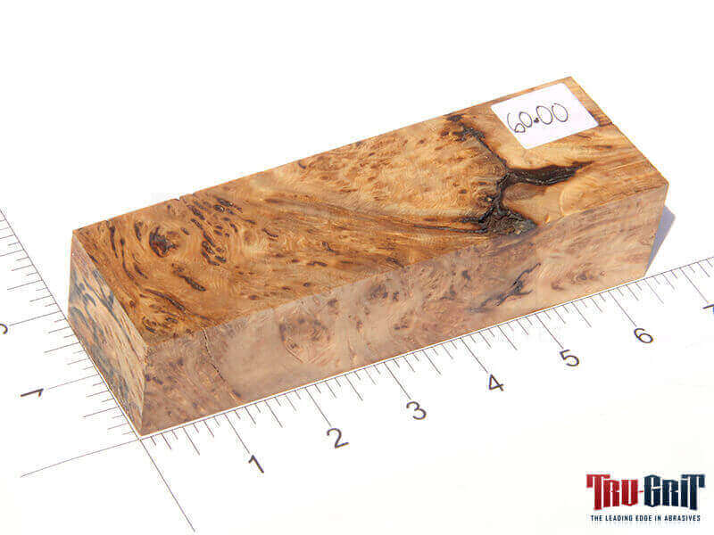 Spalted Yellow Cedar Burl Block
