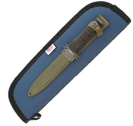 "4"" x 13"" Knife Case Zipper # KCF13"