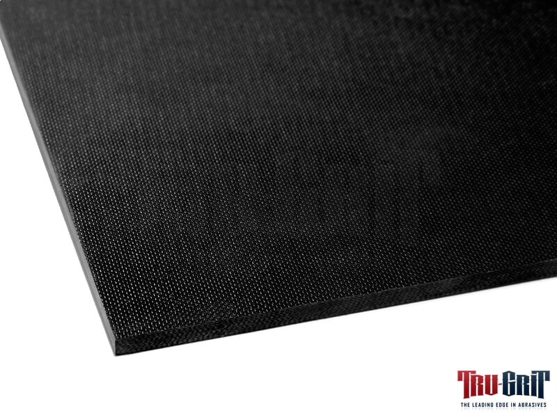 Black G-10 Sheet Coarse Textured on One Side  12 x 12 x 1/8""