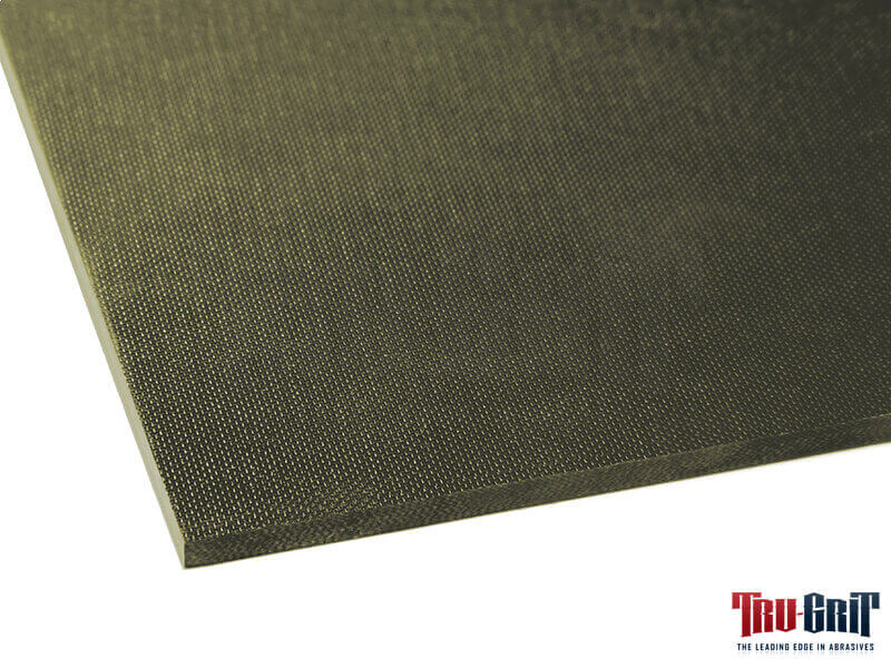 OD Green Medium Textured on One Side G-10 Sheet - 12 x 12 x 1/8""