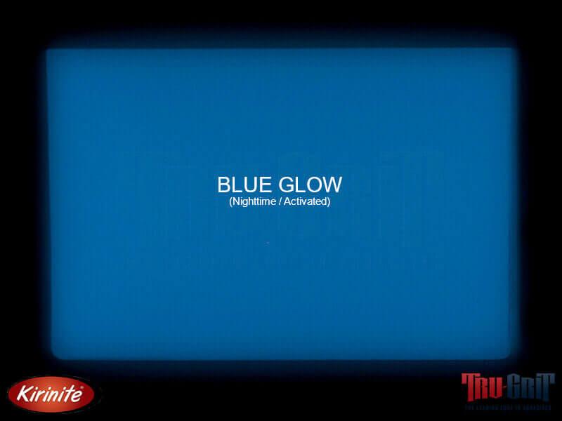 "6"" x 1-1/2"" x 1/8"" Kirinite Blue Glow - Pair"