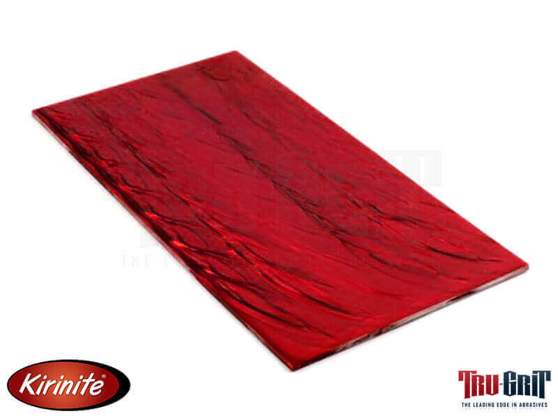 "5"" x 9-1/2"" x 1/8"" Kirinite Red Pearl - Sheet"