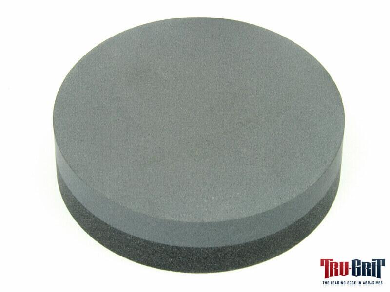 4x1-Round Crystolon Combo Stone Coarse/Fine