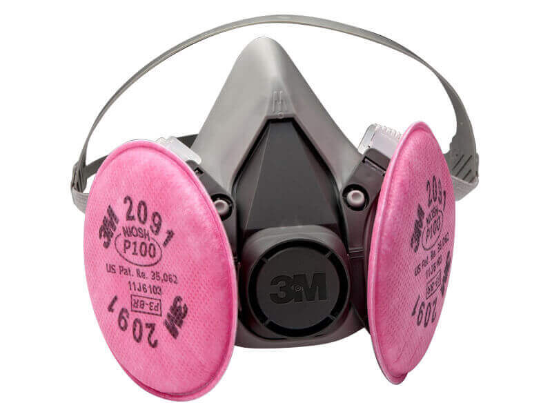 3M™ Half Facepiece Respirator Assembly - Med