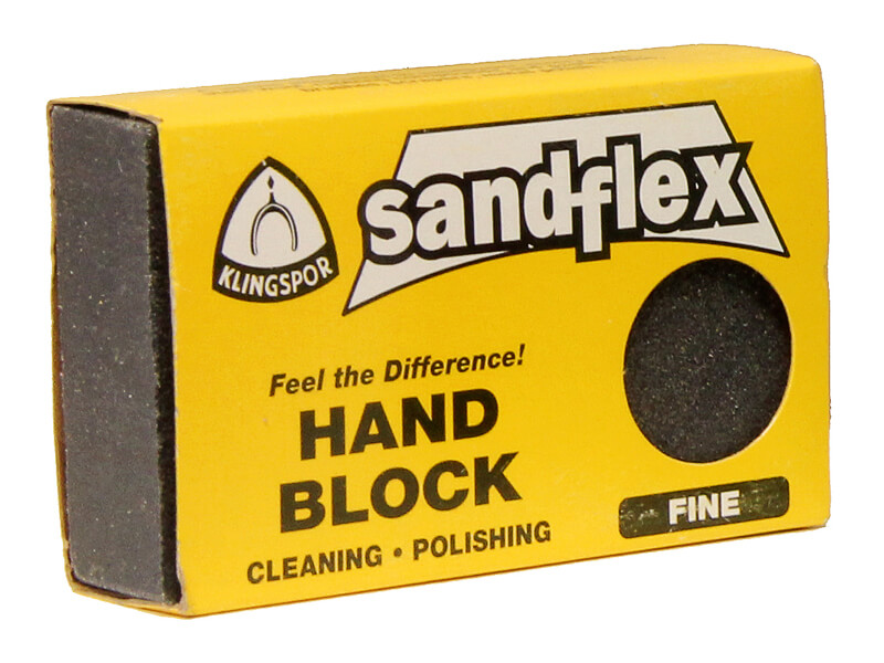 3 x 2 x 3/4 Sandflex Sanding Block - Fine 240