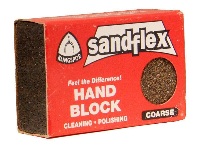 3 x 2 x 3/4 Sandflex Sanding Block - Coarse 60