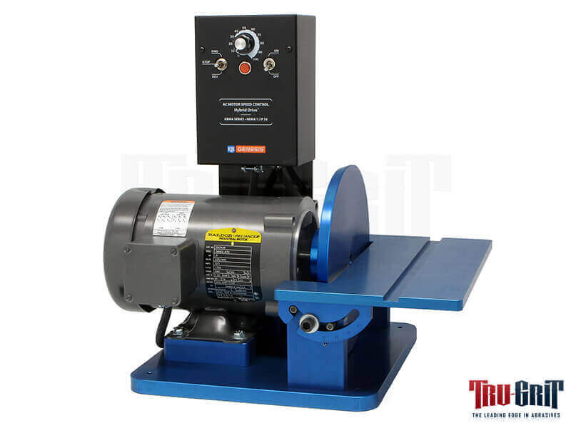 "1/2 H.P. 110V 0-2500 RPM Variable/Reversible 9"" Disc Grinder"