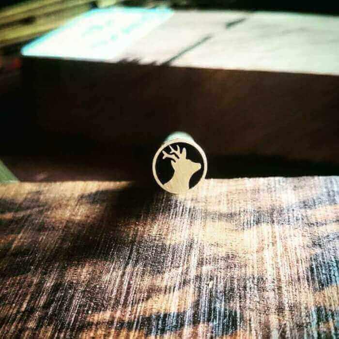 10mm x 10cm Mosaic Pin # TR0021-1010