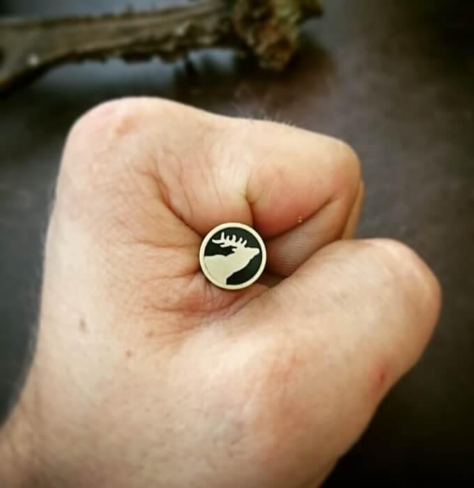 10mm x 10cm Mosaic Pin # TR007-1010