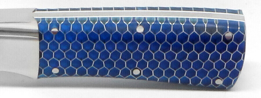 12x12x.125 C-Tek Honeycomb Blue Transparent 1/8 Cell