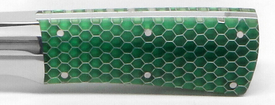 12x12x.125 C-Tek Honeycomb Green Transparent 1/8 Cell