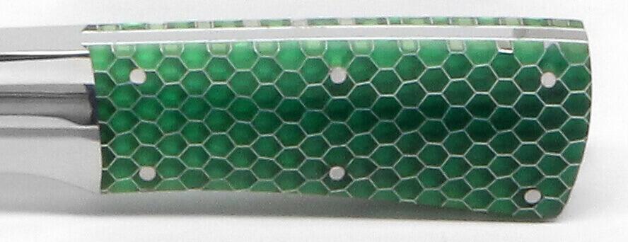 12x12x.125 C-Tek Honeycomb Green Transparent 1/8 Cell