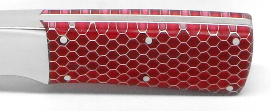 12x12x.125 C-Tek Honeycomb Red Transparent 1/8 Cell