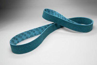 1 x 30-SB AVFN Scotch-Brite Aluminum Oxide Very Fine Low Stretch – Blue
